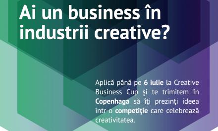 Competiția pentru cei mai creativi antreprenori