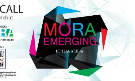 Open Call concepte artistice – Programul MORA EMERGING ediția a III-a 2016