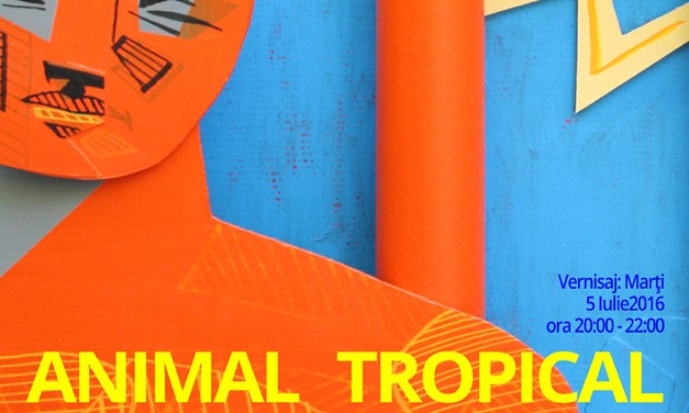 "Alexandru Rădvan ""Animal Tropical"" @ ANAID ART GALLERY, București"