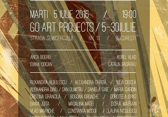 DEADLINE 24H @ Go Art Projects, București