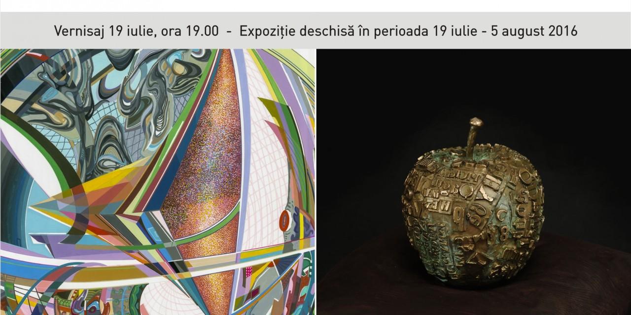 "Emanuela Harris Santamarian ""PANTA REI"",  Dan Nica ""FRAGMENTARIUM"" @ Art Yourself Gallery, București"