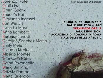 """Expoziția """"Tra segno e colore"""" @ Accademia di Romania in Roma"""