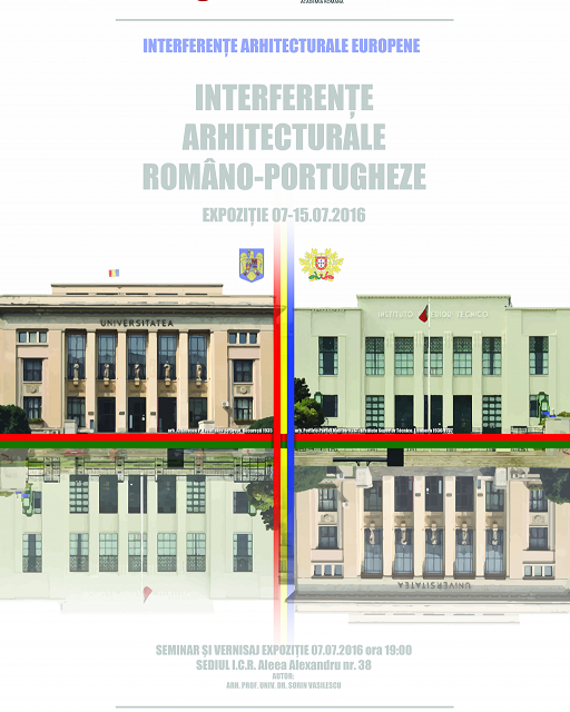 """""""Interferenţe arhitecturale româno-portugheze"""" – expoziție și conferință la Institutul Cultural Român"""