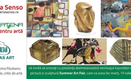 """""""Summer Art Fair"""" @ Galeria SENSO, București"""