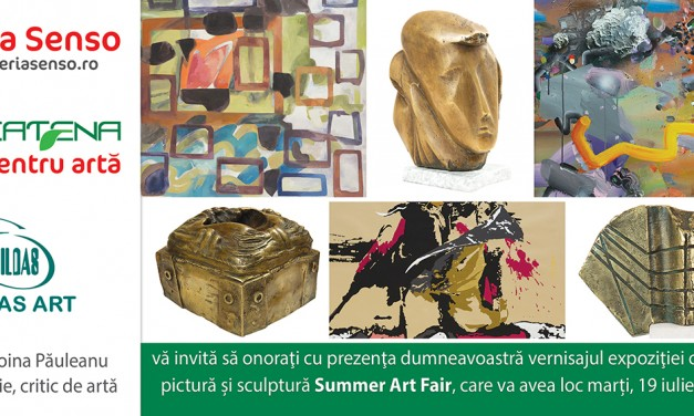 """Summer Art Fair"" @ Galeria SENSO, București"