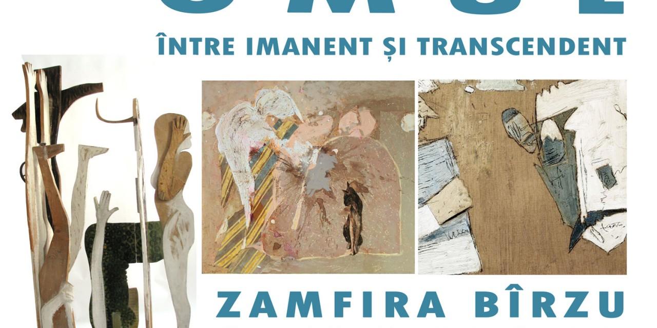 """Zamfira Birzu, Gabriela Drinceanu și Mihai Pamfil """"Omul între imanent și transcendent"""" @ Galeria de Artă Contemporană a Muzeului Brukenthal, Sibiu"""