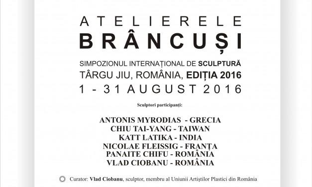 Atelierele Brâncuși – Simpozionul Internaţional de Sculptură de la Târgu Jiu