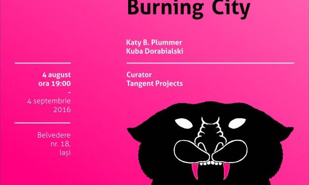 "Katy B. Plummer & Kuba Dorabialski, ""That Time You Held My Hand In The Glow Of A Burning City"" @ Borderline Art Space, Iași"