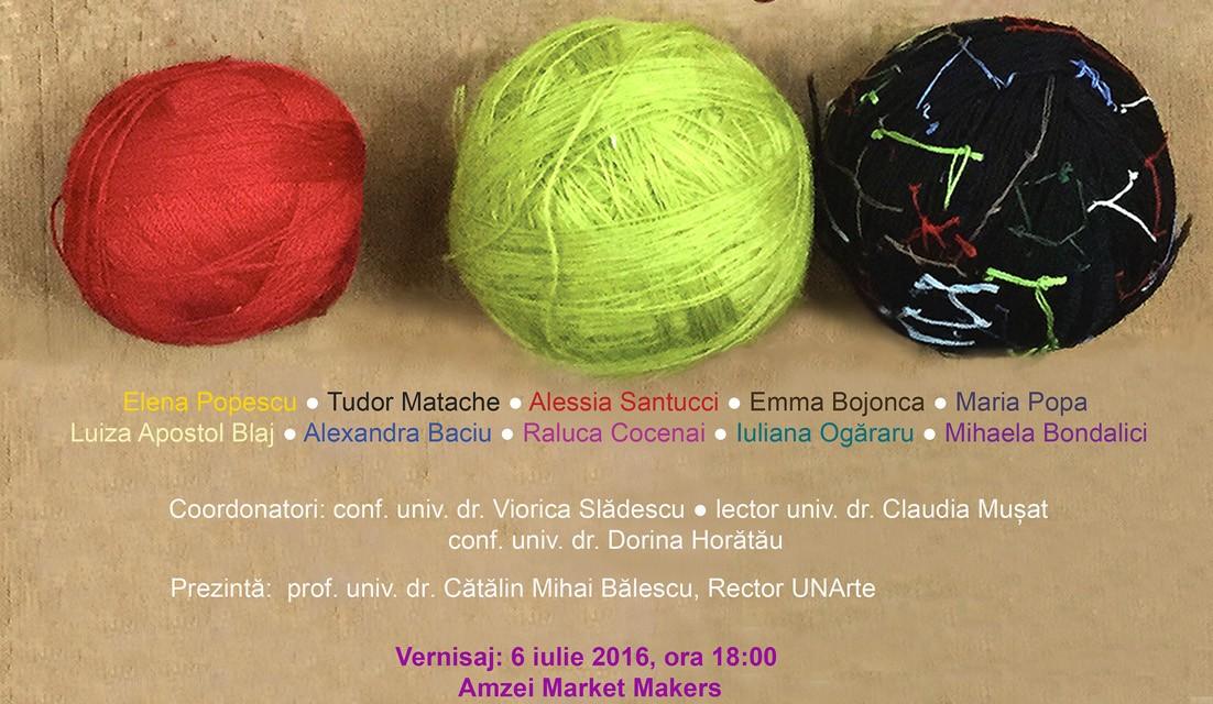 Disertație/ Licență/Arte textile- Design textil @ Amzei Market Makers, București