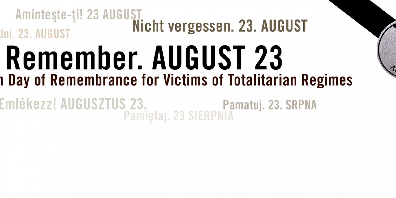 Ziua Europeană a Memoriei Victimelor Regimurilor Totalitare 23 august