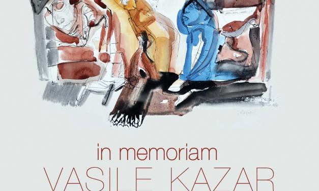 In Memoriam Vasile Kazar, Grafică din colecția George Șerban @ Sala Brâncuși, Palatul Parlamentului, București