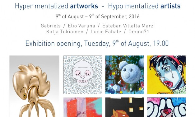 """Hyper mentalized – Hypo mentalized"" @ Art Yourself, București și Core gallery, Roma"