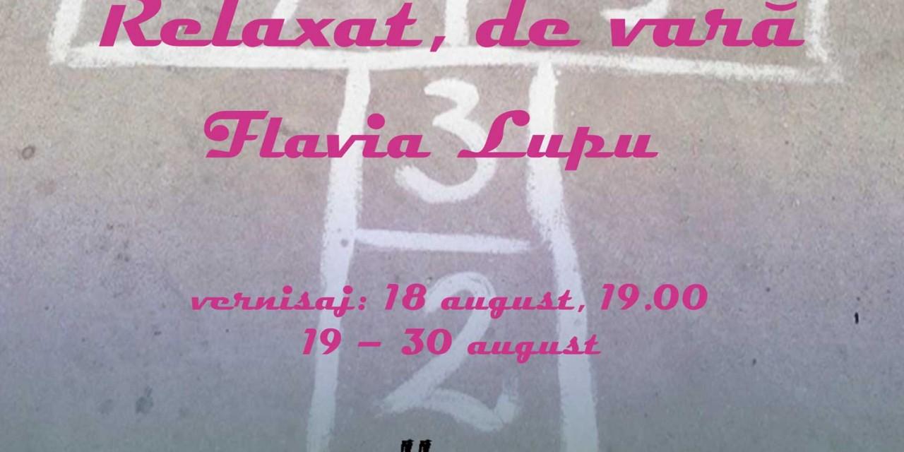 """Expoziție de Flavia Lupu """"Relaxat, de vară""""  @ Gallery, București"""