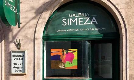 Arta la fereastră, Simona Vilău @ Galeria Simeza, București