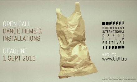 Bucharest International Dance Film Festival se pregătește de cea de-a II-a ediție