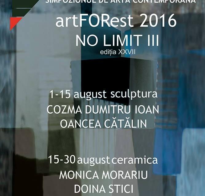 Simpozionul de arta contemporana artFORest- Singeorz-Bai, 2016