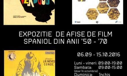 AFISE DE FILM SPANIOL DIN ANII '50-'70 ȘI PORTRET DE REGIZOR LUIS GARCÍA BERLANGA