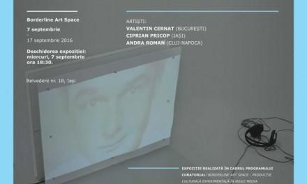 NEW MEDIA ART. SELECTED WORKS FROM BUCHAREST, CLUJ-NAPOCA AND IAȘI UNIVERSITIES OF THE ARTS @ Borderline Art Space, Iași