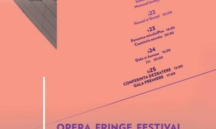 Opera Fringe Festival la Centrul Cultural Casa Artelor