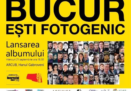 BUCUR EȘTI FOTOGENIC, lansarea albumului tipărit