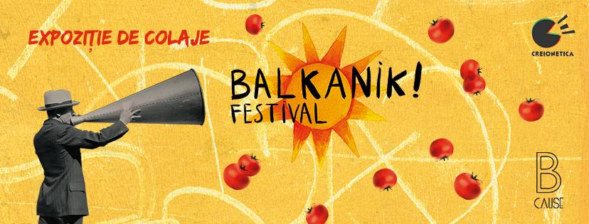 Expoziția B CAUSE la Balkanik Fest 6