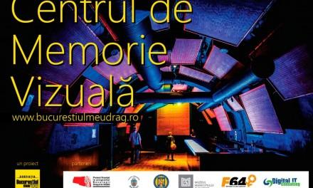 Centrul de memorie Vizuală a Bucureștiului – lansare site