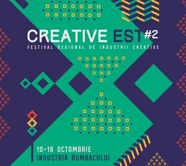 A doua ediție Creative Est Festival are loc intre 10 si 16 octombrie la București