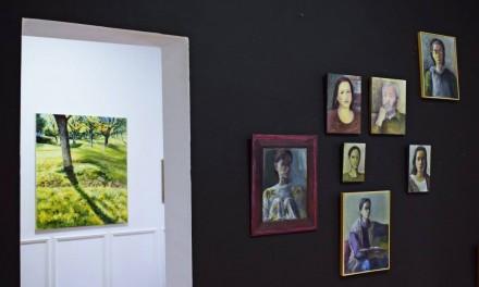 """Imagini din expoziția NADINA PASCARIU """"FLASHBACKS, BRAZILIEI 1-3"""" @ GALERIILE CAROL, BUCUREȘTI"""