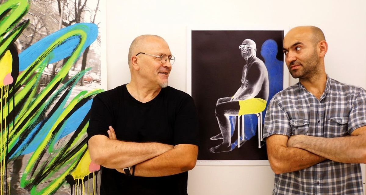 "Finisajul expoziției Gorzo / Rasovszky ""Izvorul 2"" @ Aiurart, București"