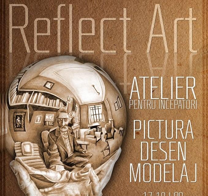 """Grădina Sticlarilor se redeschide cu Atelierele de Sculptură, Pictură și Desen """"ReflectArt"""""""