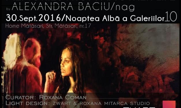 """Alexandra Baciu """"Memories from Another life"""" @ Home Mătăsari, București"""