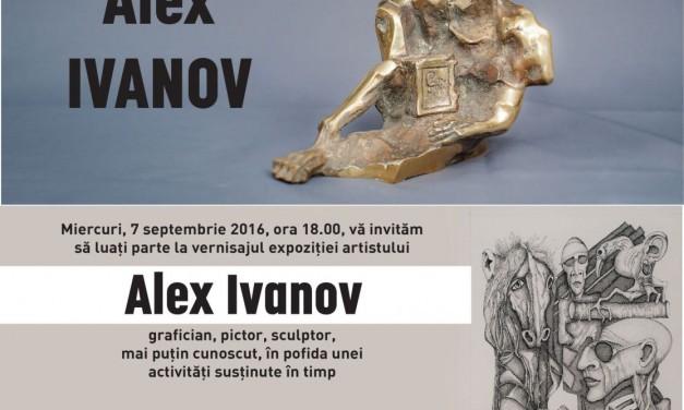 Expoziție Alex Ivanov – pictor, sculptor, grafician @ Galeria Dialog, București