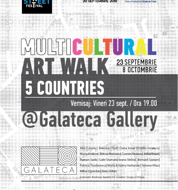 MULTICULTURAL ART WALK @ Galateca, București