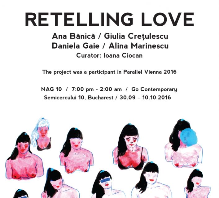 """""""Retelling Love"""" @ Go Contemporary, București"""