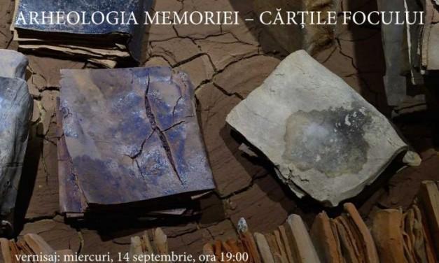 """Vlad Basarab """"Arheologia Memoriei: Cărțile Focului"""" @ Galateea Contemporary Art, București"""