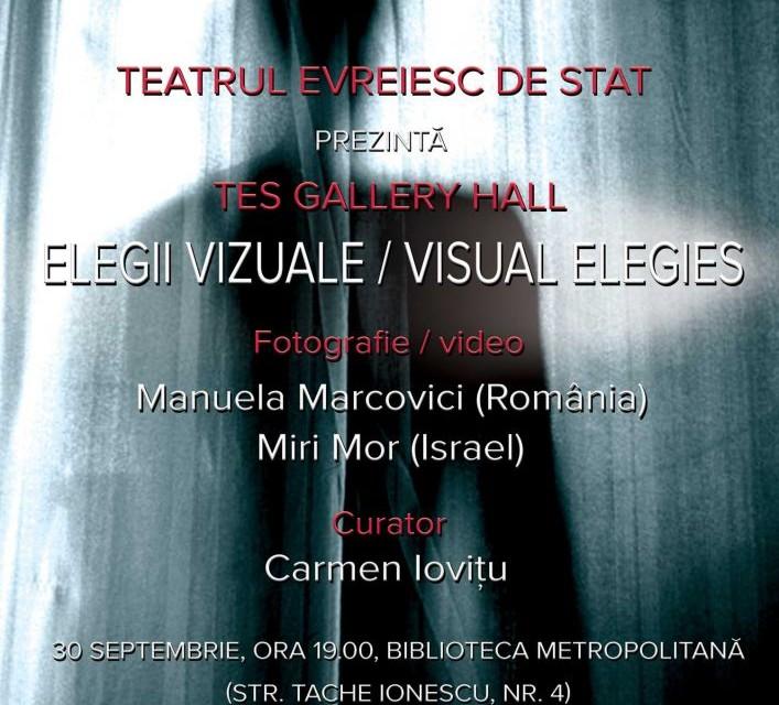 """Manuela Marcovici și Miri Mor """"Elegii vizuale"""" @ Biblioteca Metropolitană, București"""