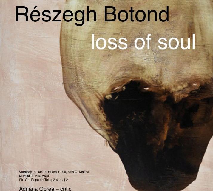 """Reszegh Botond """"Loss of Soul"""" @ Muzeul de Artă Arad"""