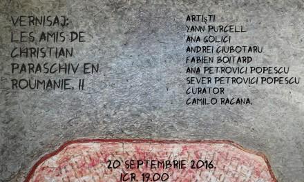 Les amis de Christian Paraschiv en Roumanie II @ICR București