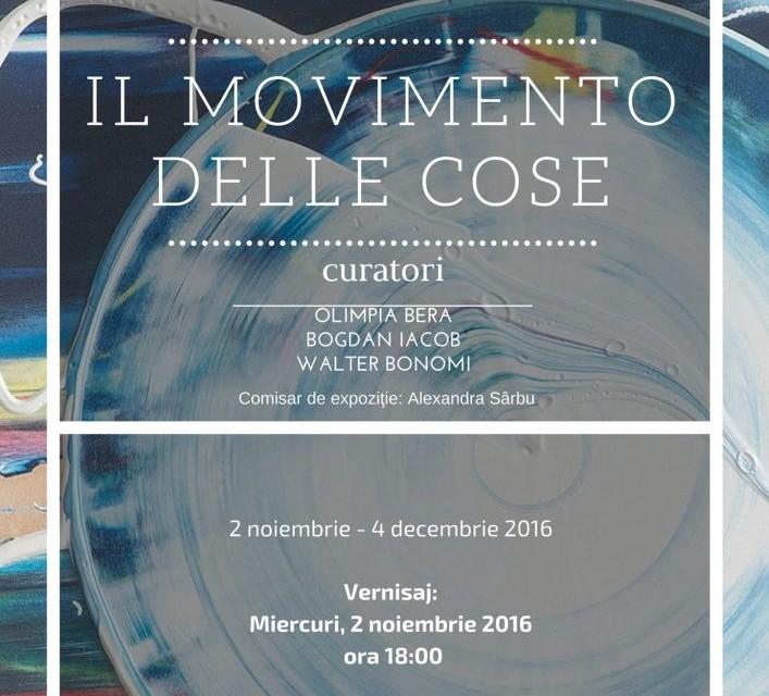 """""""Il Movimento delle Cose"""". Exponenți de referință ai artei moderne internaționale postbelice @ Muzeul de Artă Cluj-Napoca"""