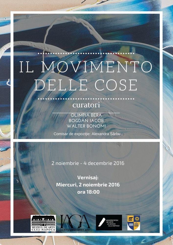 """""""Il Movimento delle Cose"""". Exponenți de referință ai artei moderne internaționale postbelice"""