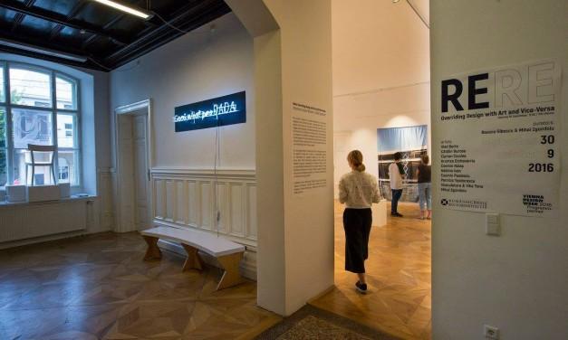 Expoziţia ReRe. Overriding Design with Art and Vice-Versa la VIENNA DESIGN WEEK 2016