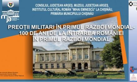 """Expoziția """"Preoții militari în Primului Război Mondial"""" @ Galeria La Rond, Chișinău"""