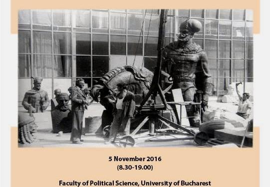 """Conferința """"The 'state artist' in Romania and Eastern Europe"""" @ Facultatea de Științe Politice, București"""