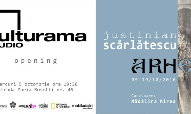 Justinian Scarlatescu – expozitia A.R.H. @ Kulturama Studio