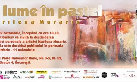 """Marilena Murariu """"O lume în pastel"""" @ Elite Art Gallery, București"""
