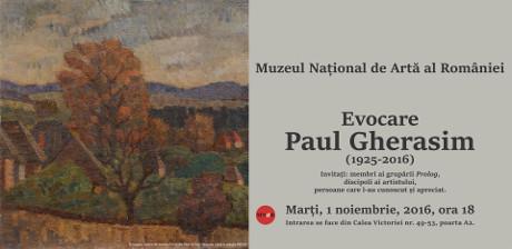 Paul Gherasim @ Muzeul Național de Artă al României