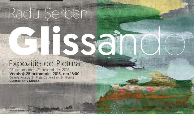 "Radu Șerban ""Glissando"" @ Galeria Arcade 24, Bistrița"
