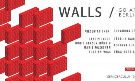 Expoziția WALLS @ Go Art Projects, București