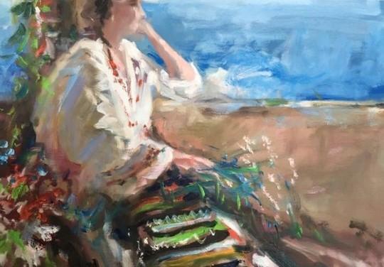 """Expoziţia de pictură """"Inima Reginei"""", semnată de Bogdan-Mihai Radu @ Casino Sinaia"""