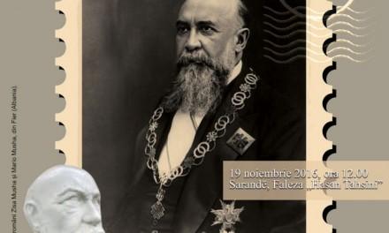Dezvelirea bustului lui Nicolae Iorga la Sarandë, în Albania